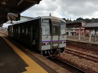 広島駅から備後落合駅へ 芸備線不通のため三次駅までバス利用
